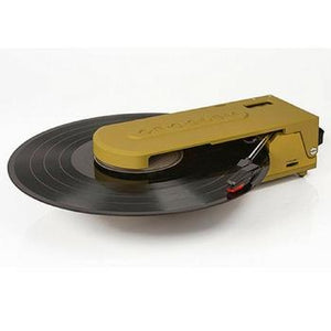 Revolution Portable USB Turntable + [ Bonus Spotlight LP Included ]-Record Player-Crosley-Green-vinylmnky