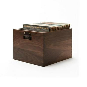Symbol Audio Dovetail Record Crate-Storage-Symbol-Walnut-vinylmnky