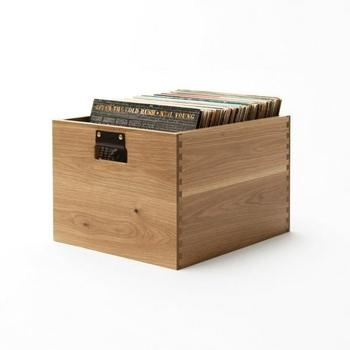 Symbol Audio Dovetail Record Crate