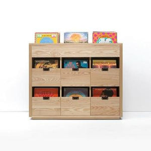 Symbol Audio Dovetail Vinyl Storage Cabinet