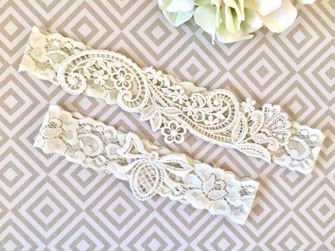 e72761233 Lace Bridal Garter - Where to buy ivory garters -1907