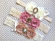 Baptism and Flower Girl Headbands