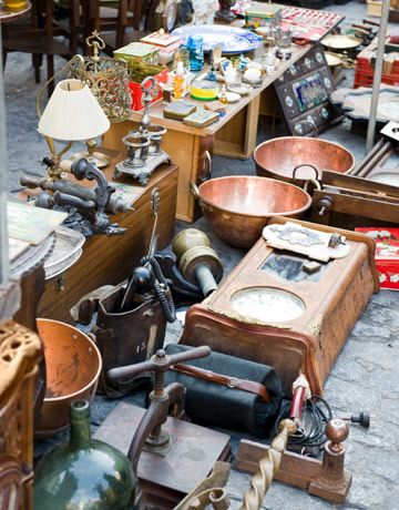 Be a Savvy Flea-Market Shopper With 8 Tips