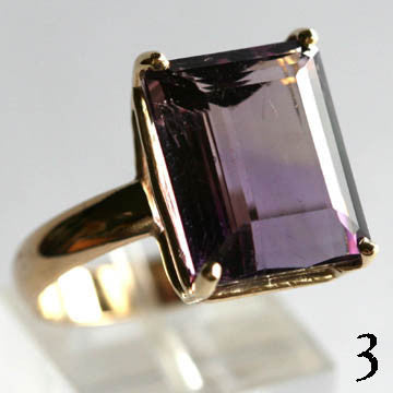 14Kt Gold Ring 13.5ct Ametrine Ring High Fashion Bruce Magnotti Cocktail Ring Fine Jewelry Size 12