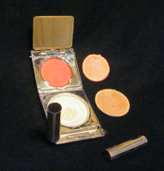 1930s Yardley London Compact Powder Mirrors Rouge Lipstick Compact In The Original Box