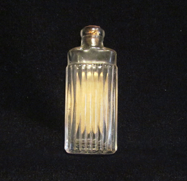 1920's Djer Kiss Perfume Bottle Paris Perfume Kerkoff Paris France Art Deco Small Bottle