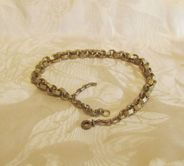 Antique 10kt GF Watch Chain Fob Circa 1890 Unique Watch Chain