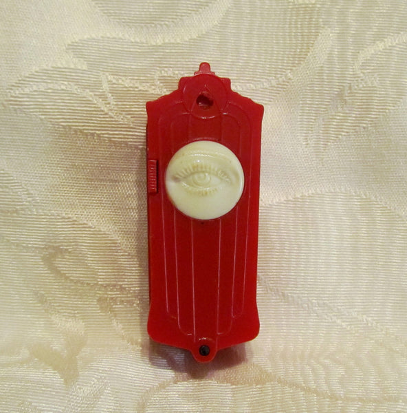 Clairol Mascara Touch Up Crayon Compact Vintage Art Deco Color Stick 1930's Cameo Compact Unused Rare