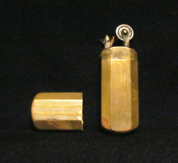 1930s Trench Lighter Brass Working Lighter