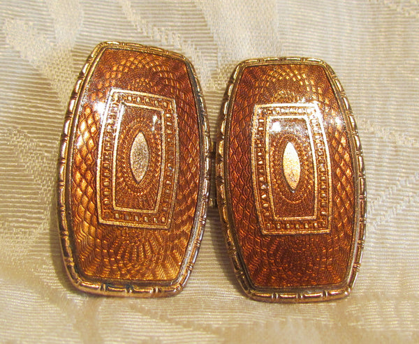 Antique Guilloche Belt Buckle FULCO Italian Designer