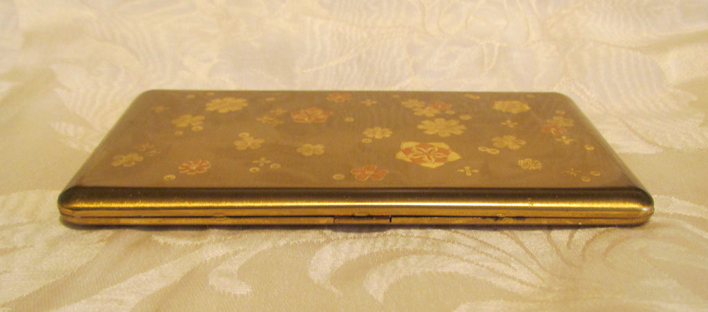 Wadsworth cigarette case 1950s gold business card case or credit wadsworth cigarette case 1950s gold business card case or credit card holder colourmoves Gallery
