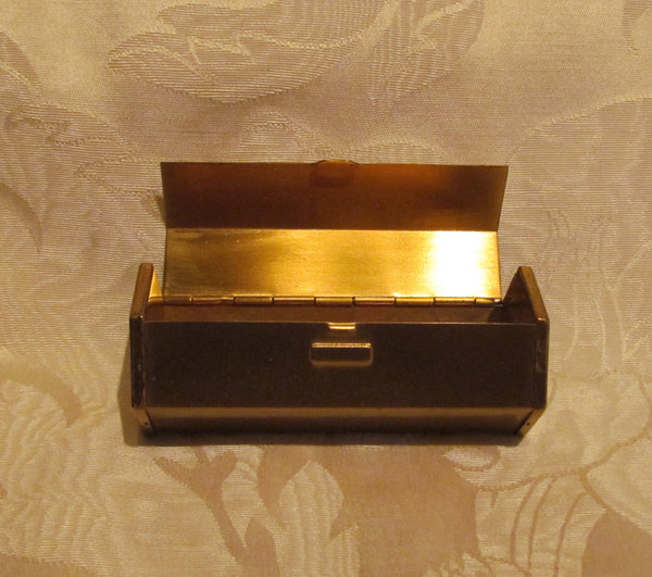 1950s Hexagon Cigarette Box Mad Men Cigarette Case Holder