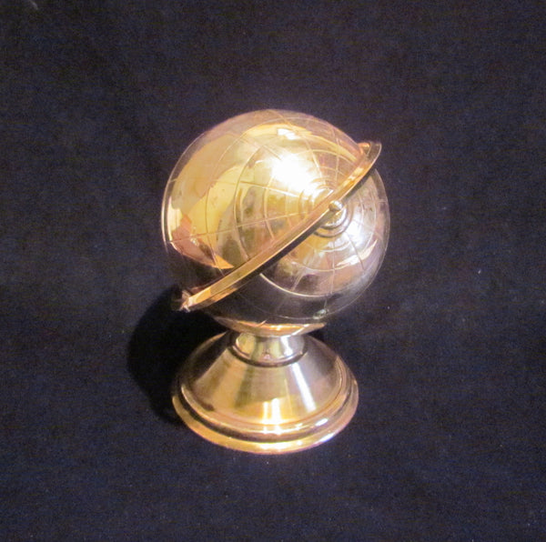 1940's Globe Ashtray Vintage Table Top Ashtray Office Decor Accessory