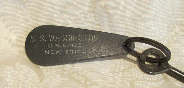 Antique Room Key S S Washington Luxury Liner Room Key