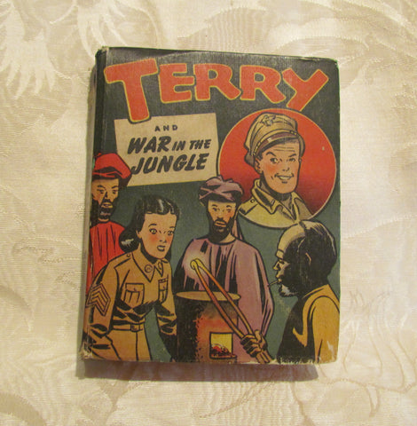 Terry And War In The Jungle Big Little Book