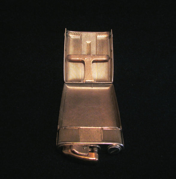 Evans Clipper Case Lighter 1930s Gold Working Lighter