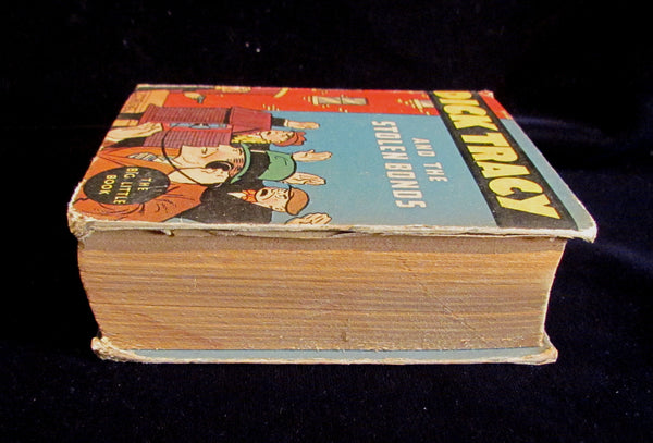 Big Little Book 1930s Dick Tracy And The Stolen Bonds