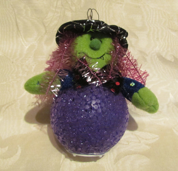 Halloween Witch Light Decoration Multi Color Flashing Light