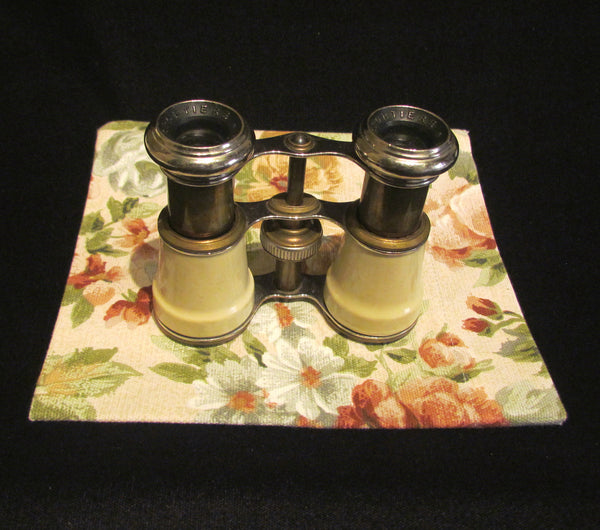 1800s Enamel Opera Glasses Binoculars Sportier Paris Jockey Sports Glasses