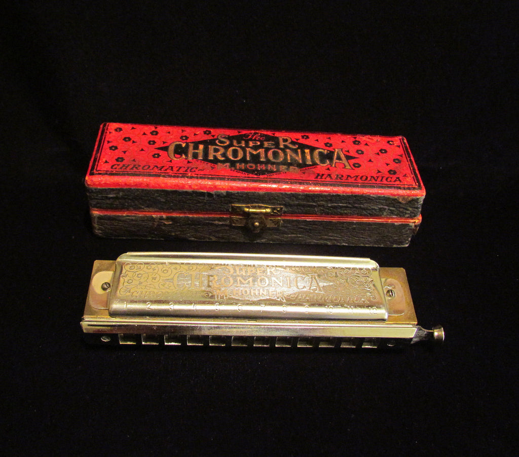 Hohner Super Chromonica Harmonica Model 270 Key of C 1930s Unused