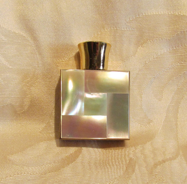 Mother Of Pearl Perfume Bottle 1950s Travel Fragrance Bottle