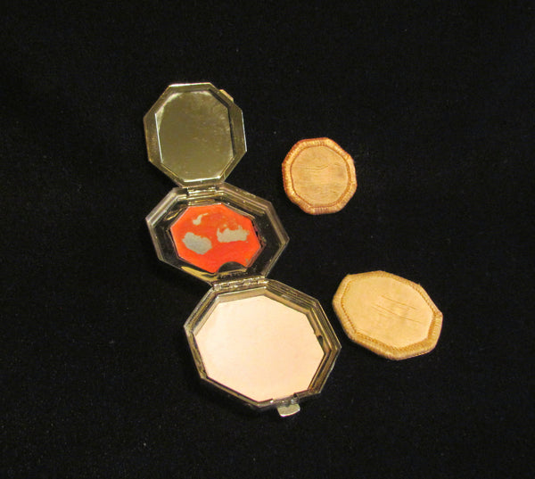 Cloisonne Richard Hudnut Le Debut Compact 1920s In Original Box