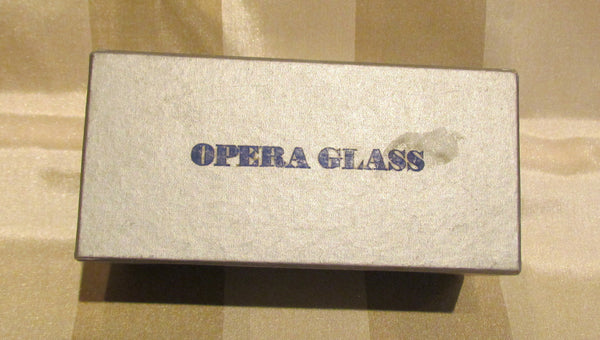 Mother Of Pearl Opera Glasses Binoculars Theater Glasses Boxed Whiting Davis Purse