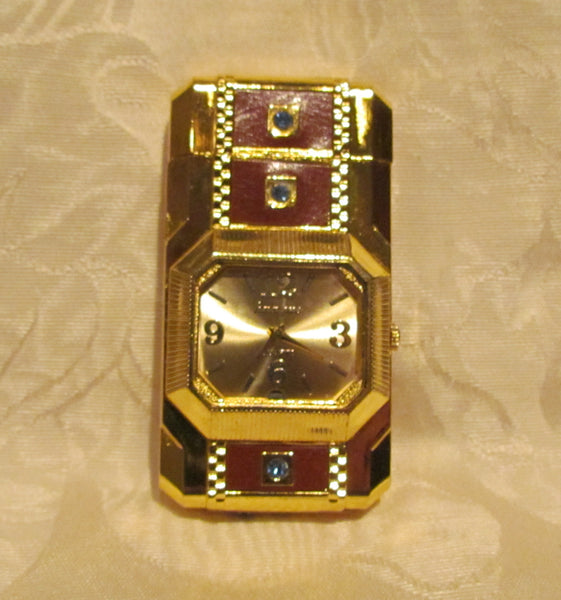 Gold Watch Lighter Butane Fliptop Lighter