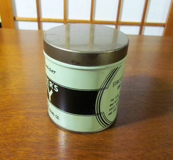 1920s Grandfather's Putty Tin The Allentown Paint Manufacturing Co. Allentown, PA