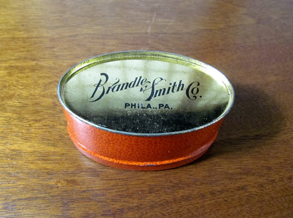 Vintage Mellomints Lithograph Candy Tin Container Philadelphia, PA