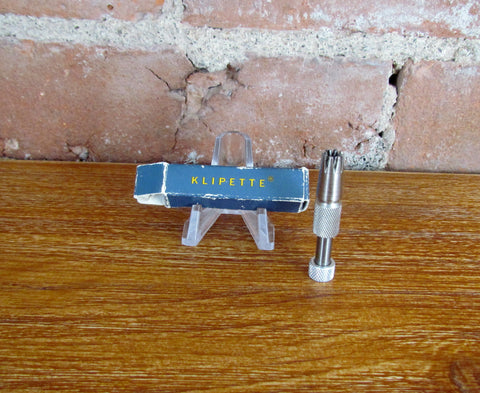 Vintage Klipette Gentleman's Nose Hair Trimmer Original Box