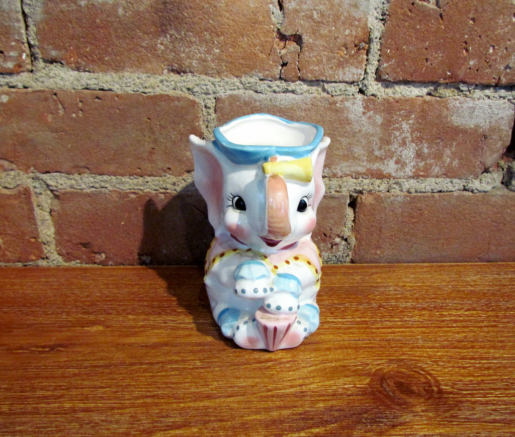 Vintage Elephant Pitcher