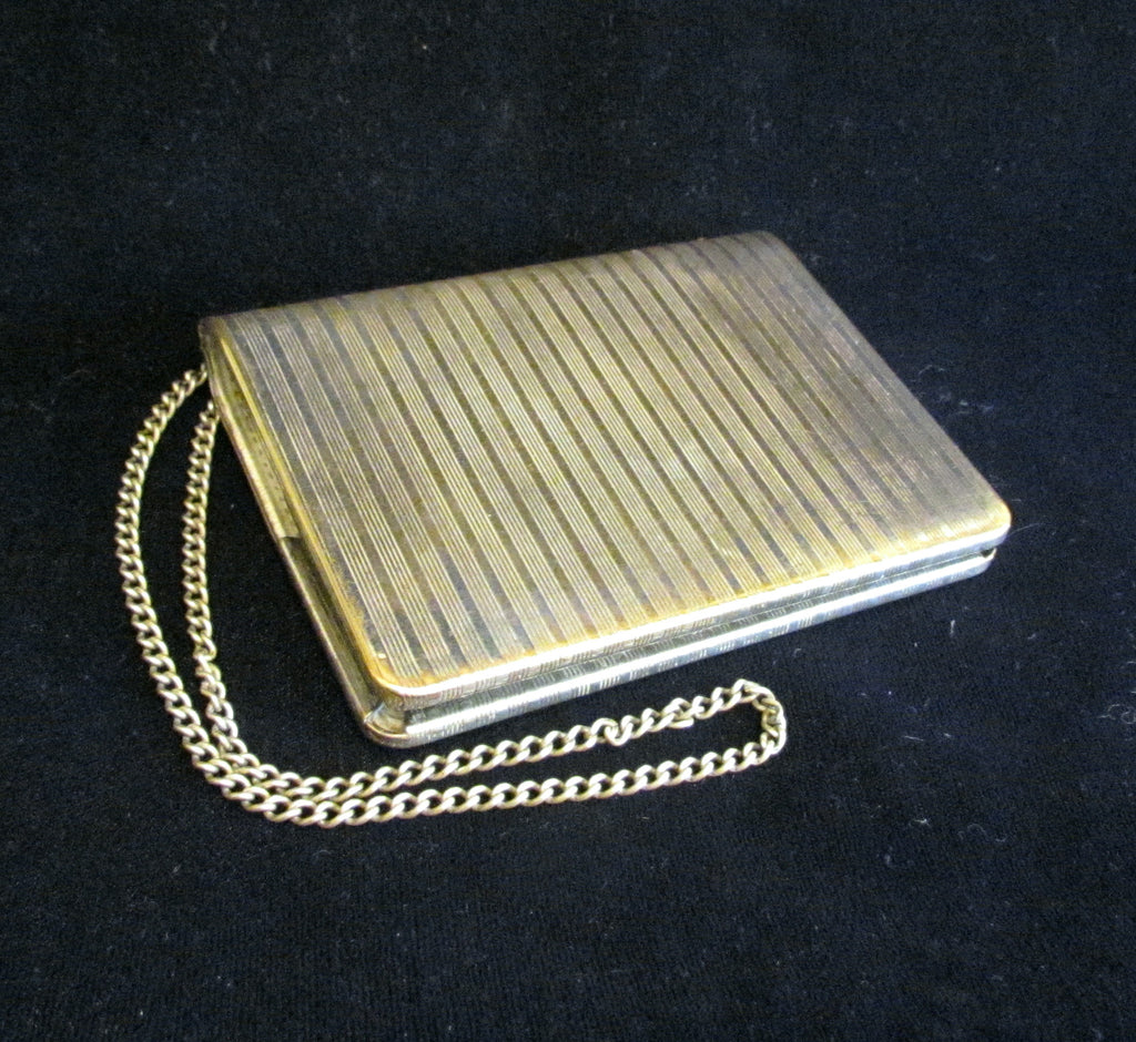 Antique Silver Wallet Purse 1911 Coin Purse Credit Card Business ...
