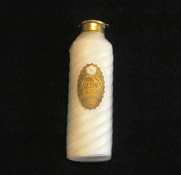 Richard Hudnut Talcum Powder Bottle Narcisse Talcum Powder Bottle Unused Excellent Condition Full Bottle