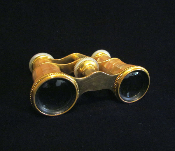 LeMaire Fi Opera Glasses 1800s Paris Binoculars Antique Mother Of Pearl Theater Glasses EXCELLENT WORKING CONDITION