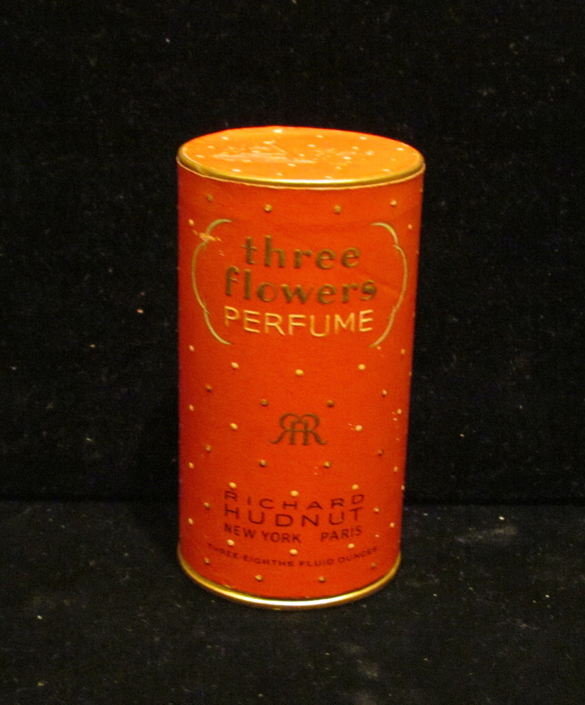 1930's Richard Hudnut Three Flowers Perfume Box Art Deco Box VERY RARE
