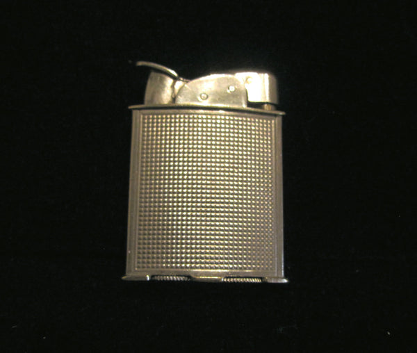 Evans Spitfire Lighter 1940s Silver Lighter Art Deco Working Pocket Lighter