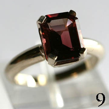 Bruce Magnotti Cocktail Ring 14Kt Gold Ring 2ct Rubellite Tourmaline Ring High Fashion Ring Fine Jewelry Size 5