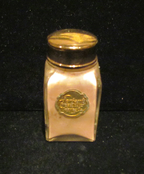 1910 Colgate Perfume Bottle Talcum Powder Vintage Colgate Co Floriant Powder Rare