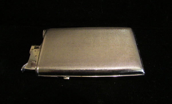 Ladies Art Deco Compact Case Lighter 1940's Evans Lighter Works