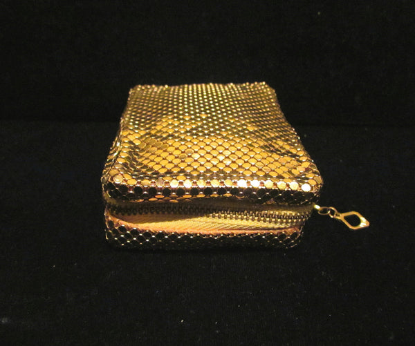 Vintage Whiting & Davis Mesh Case Cigarette Case Cell Phone Case Change Purse Card Holder Coin Purse Unused