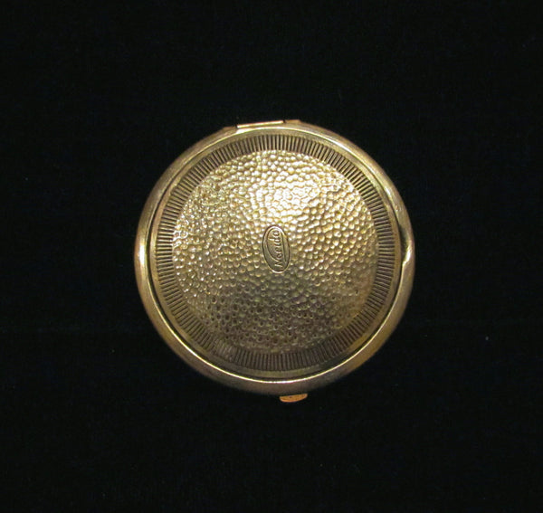 1924 Norida Powder & Mirror Compact Colonial Courting Scene