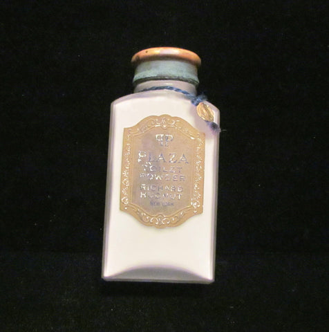 1913 Richard Hudnut Perfume Vintage Powder Plaza Toilet Talcum Powder UNUSED RARE