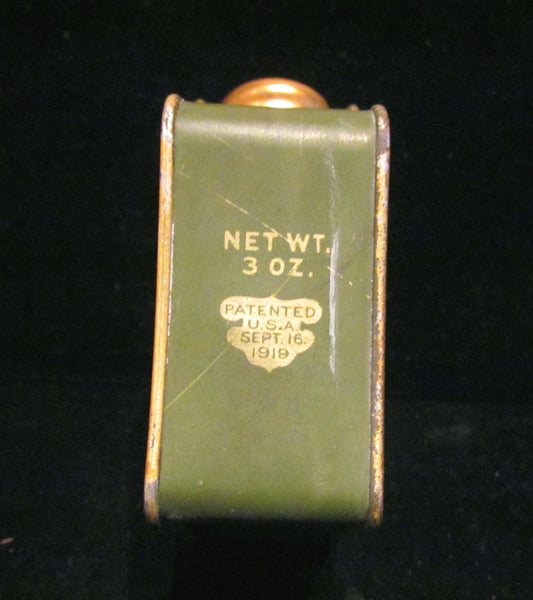 1919 Palm Olive Talcum Powder Tin Rose Egyptian Antique Palmolive Tin Rare