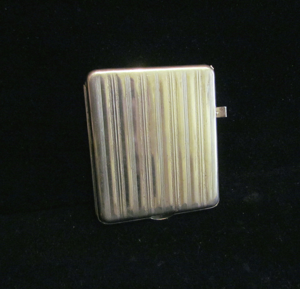 1926 Ejector Cigarette Case LYMCO Mfg. Co. Ejector Case Cigarette Dispenser WORKING CONDITION