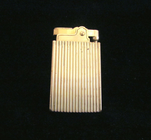 1950's Gold Musical Cigarette Working Lighter Vintage Novelty Music Box Working Lighter
