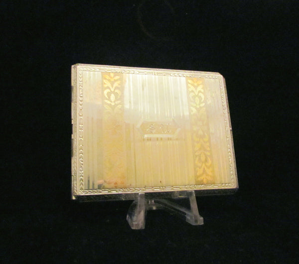1900's E B M Company Cigarette Case Edwardian Card Case Antique Rare