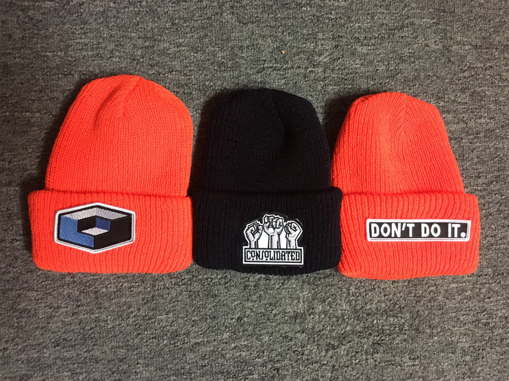 Buy One Get One FREE! Fold over beanies!