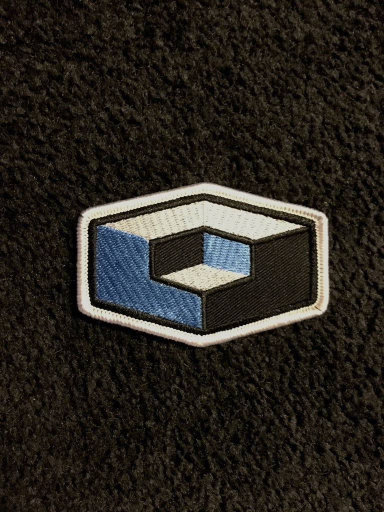 Cube Embroidered Patch