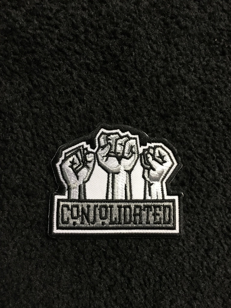 Fists Embroidered patch